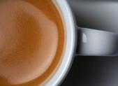 Media taza de cafe