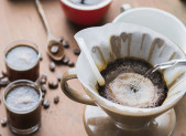 Filter drip coffee