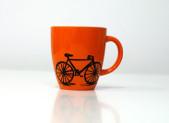 Taza con bici
